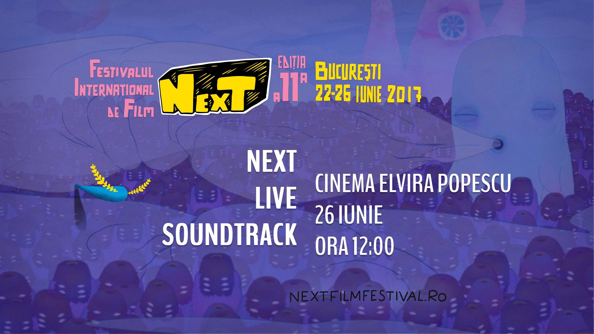 NexT International Film Festival în direct la HipPie Radio One